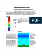 Applications of electromagnetic radiation