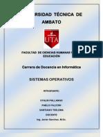 Manuales de Configuracion de Nuestra Pc2