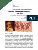 18. Condorcet Sintesis Propuesta Educativa