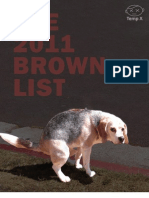 Brown List 2011