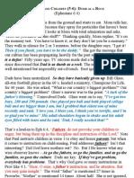 Eph 6_04 Parents and Children (5-6)_Dumb as a Rock