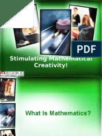 StimulatingMathematicalCreativity-Pennie