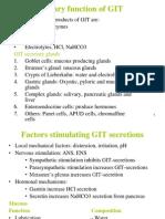 GIT3 Physiology