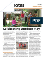Celebrating Outdoor Play