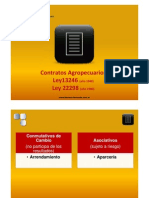 Contratos Agropecuarios