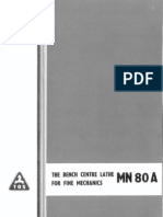 Carte Tehnica TOS MN80