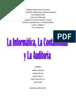 La informatica, la contabilidad y la auditoría^^