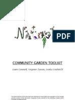 Community Gardens Toolkit - Natopia: