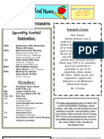 AppleTree Montessori Newsletter Sep 2011