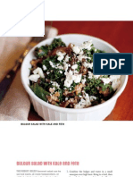 Bulgur Salad with Kale and Feta