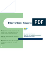 intervention -- soup to nuts--updated april 2011