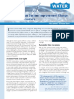 The Distribution System Improvement Charge