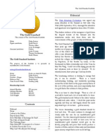 The Gold Standard Newsletter Issue #10 ● 15 October 2011