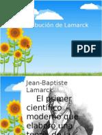 Contribución de Lamarck