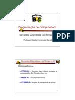 PCI - 06 - Comandos Matemáticos e de Strings em C