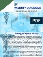 Commuity Diagnosis Ppt