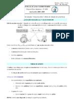Resumo F7- 3a Lei de Newton