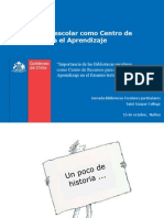 PPT Biblioteca Escolar Como CRA Colegio Saint Gaspar
