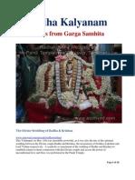 Radha Kalyanam