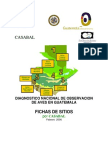 Diagnóstico nacional de observación de aves en Guatemala