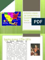 Antonio López de Santa Ana y la perdida BLOG