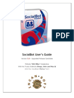 SocialBot User Guide