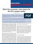Policy Brief Eastern Policy April09