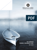 The European Goodwill Impairment Study 2011-2012