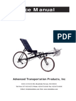 Vision Bike Service Manual