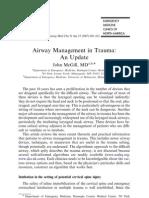 Airway Management in Trauma