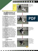 Passing the Guard No-Gi Article