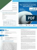 Programme-cours Internationaux Novembre 2011
