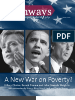 A New War on Poverty?