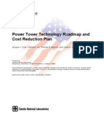 Sandia Report, Power Tower Roadmap and Cost Reduction, April 2011