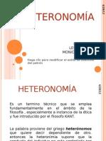 HETERONOMÍA(MONICA)