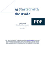 Getting Started With the iPad 2 by Keth Engwall, Catawba College Library