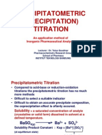 04. PRECIPITATOMETRIC TITRATION
