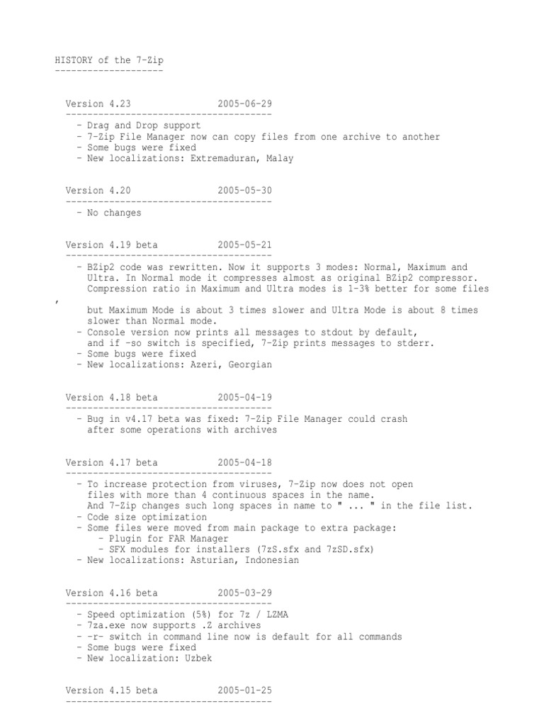 History | Zip (File Format) | Computer File Formats