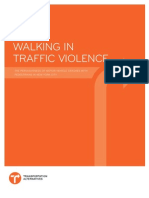 Walking in Traffic Violence