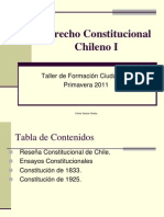 Derecho Constitucional Chileno I