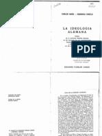 La Ideologia Alemana- Carlos Marx-Federico Engels