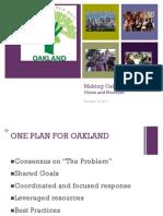 Oakland Neighborhood Safety Plan presentation