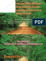 epatoprotective Effect of reen Tea (Camelia sinensis1