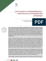 RSE - Faire évoluer la gouvernance des entreprises_0