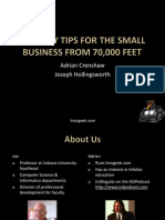 Security Tips for the Small Business From 70000 Feet