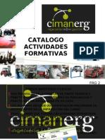 Actividades Formativas Cimanerg Sept 2011