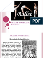 Análise Biomecânica e Ballet