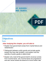 2.5. Public Goods and Taxes