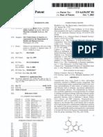 Cannabinoids Patent #6630507