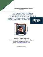 El conductismo y su influencia en la Educación Tradicional